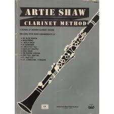 ARTIE SHAW CLARINET METHOD