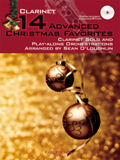14 ADVANCED CHRISTMAS JAZZ FAVOURITES + CD clarinet