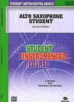 ALTO SAXOPHONE STUDENT Level 1