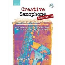 CREATIVE SAXOPHONE IMPROVISING + CD