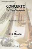 CONCERTO for Two Trumpets Score & CD (parts)