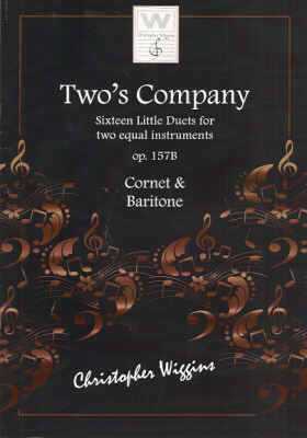 TWO'S COMPANY Op.157b (Treble Clef)
