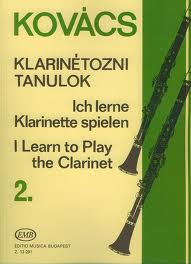 I LEARN TO PLAY THE CLARINET Book 2