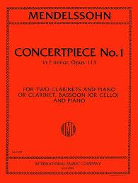 CONCERTPIECE No.1 Op.113 in f minor