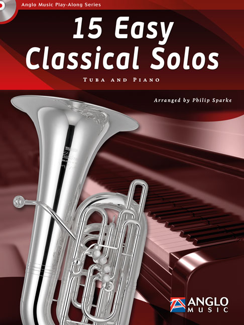 15 EASY CLASSICAL SOLOS + CD (treble/bass clef)