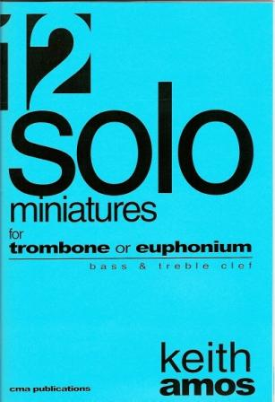 12 MINIATURES FOR SOLO EUPHONIUM