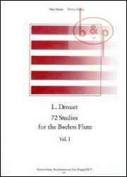 72 STUDIES for the Boehm Flute Volume 1