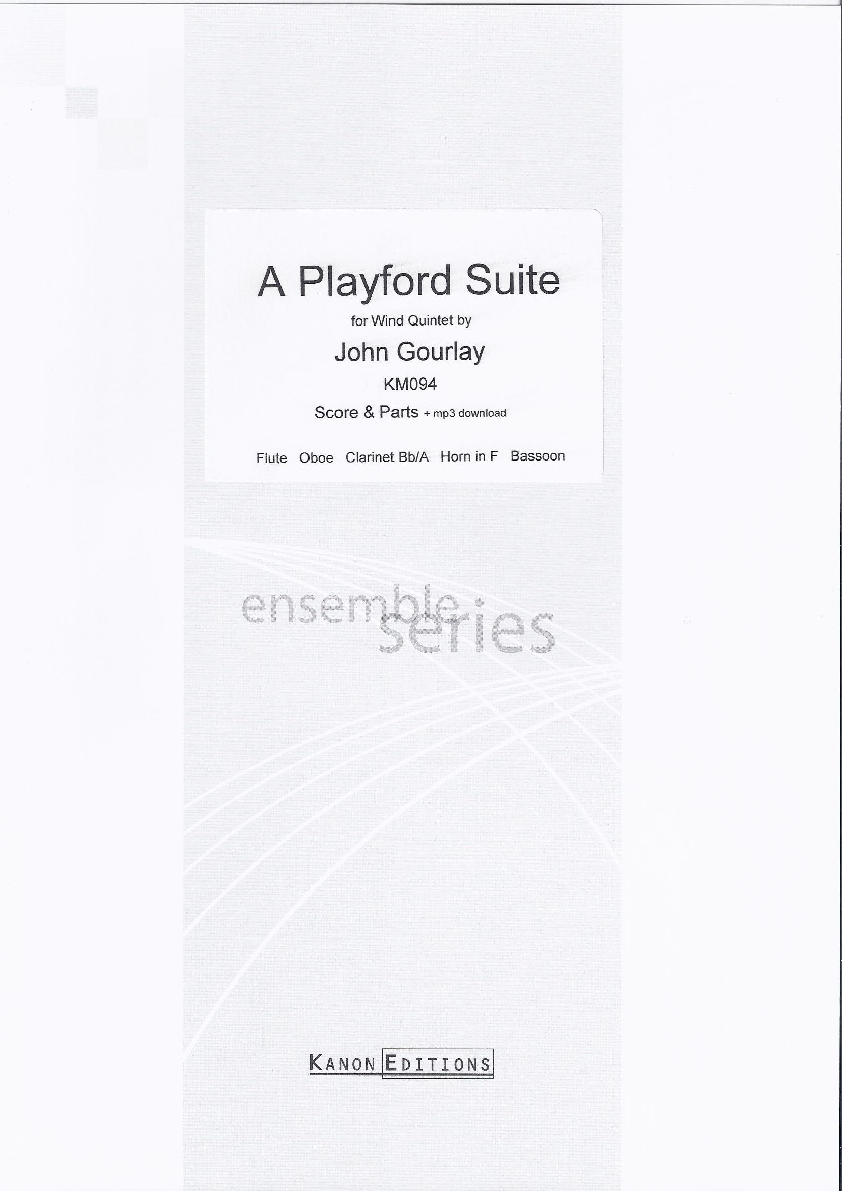 A PLAYFORD SUITE score & parts