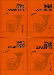 WALDHORN QUARTETTE Book 2 (little orange books)