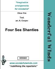 FOUR SEA SHANTIES score &amp; parts