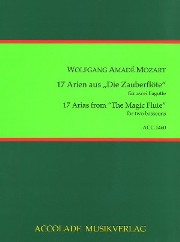 17 ARIAS from The Magic Flute
