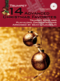 14 ADVANCED CHRISTMAS JAZZ FAVOURITES + CD trumpet