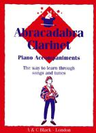 ABRACADABRA CLARINET Piano Accompaniments