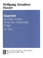 QUARTET in D K285