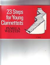 23 STEPS FOR YOUNG CLARINETTISTS