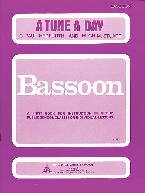 A TUNE A DAY FOR BASSOON