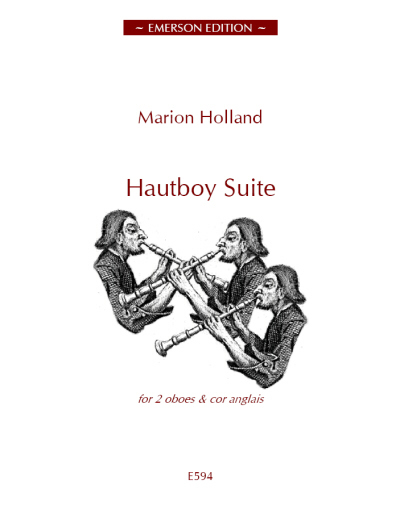HAUTBOY SUITE score &amp; parts