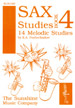 SAXOPHONE STUDIES Book 4: 14 Melodic Studies