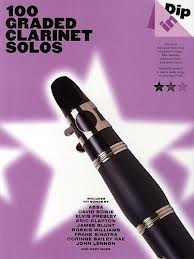 100 GRADED CLARINET SOLOS pop songs with chord symbols