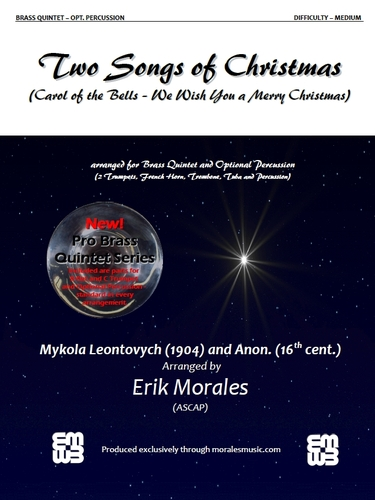 TWO SONGS OF CHRISTMAS score & parts