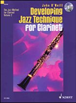 DEVELOPING JAZZ TECHNIQUE Volume 2 + CD Bb edition