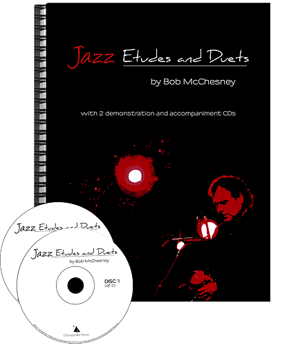 JAZZ ETUDES AND DUETS + 2CDs Bass Clef Edition