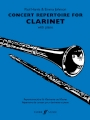 CONCERT REPERTOIRE FOR CLARINET