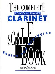 THE COMPLETE BOOSEY & HAWKES CLARINET SCALE BOOK