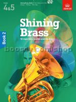 SHINING BRASS Book 2 + CDs for Treble & Bass Clef Brass