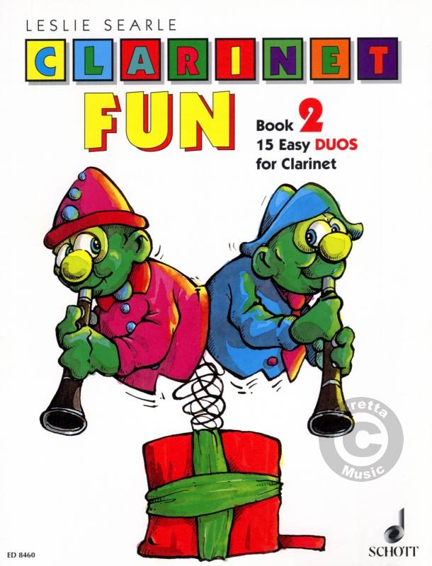 CLARINET FUN Book 2 15 easy duos