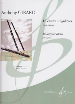16 ETUDES SINGULIERES