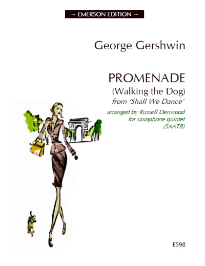 PROMENADE (Walking the Dog) score & parts
