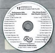 12 INTERMEDIATE JAZZ ETUDES CD