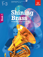 SHINING BRASS Book 1 + CD Treble & Bass Clef Brass