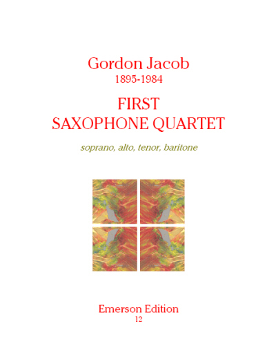 FIRST SAXOPHONE QUARTET