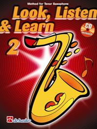 LOOK, LISTEN &amp; LEARN Book 2 + CD (tenor)