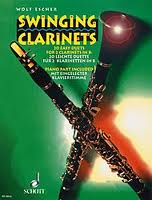 SWINGING CLARINETS 20 Easy Duets