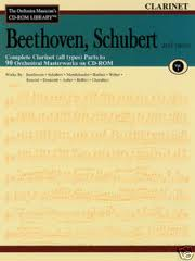 THE ORCHESTRA MUSICIAN'S CDRom LIBRARY Volume 1 Beethoven, Schubert & more