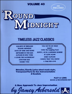 'ROUND MIDNIGHT + CD (Volume 40)