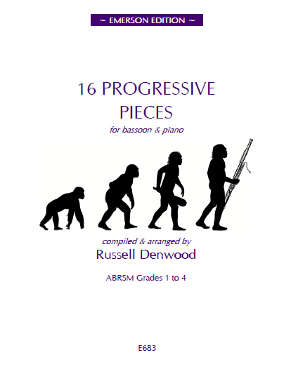 16 PROGRESSIVE PIECES