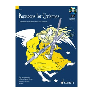 BASSOONS FOR CHRISTMAS + CD